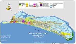 Kiawah Zoning District Map Town Of Kiawah Island